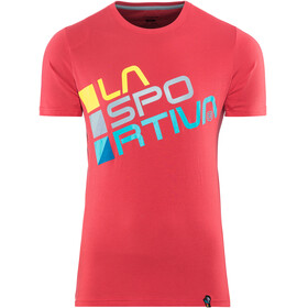 La Sportiva M's Square T-Shirt Cardinal Red